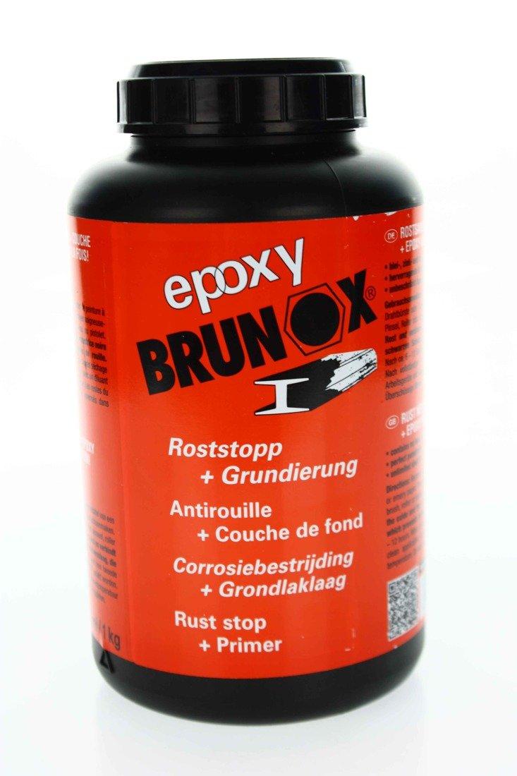 brunox epoxy 1l rostumwandler rostschutz grundierer. Black Bedroom Furniture Sets. Home Design Ideas