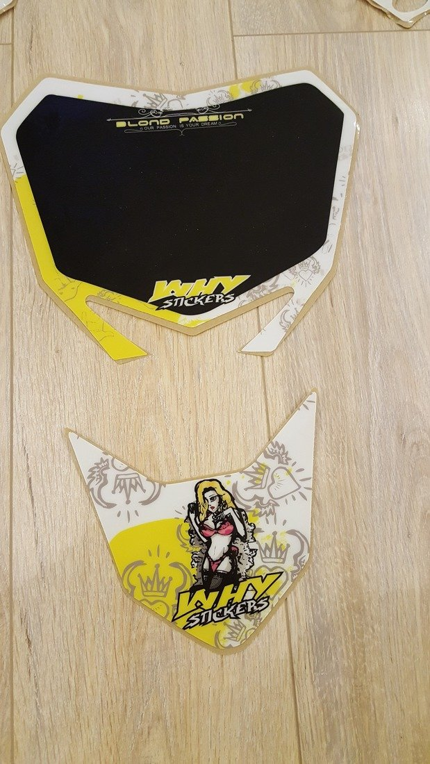 Aufkleber Set Suzuki Blond Passion Why Stickers Rmz 250 10