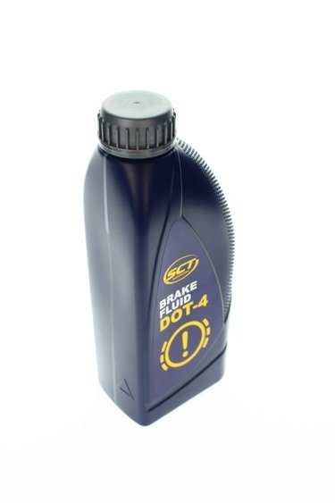 SCT BREMSFLÜSSIGKEIT DOT 4, 1 Liter Made in GERMANY