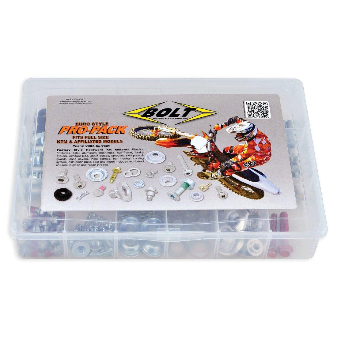 Bolt pro-pack schraubenkit 180 adapté pour KTM EXC 300 à partir de Bj 98