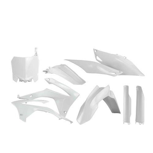 honda plastik kit full komplett crf 250 450 weiss weiss. Black Bedroom Furniture Sets. Home Design Ideas